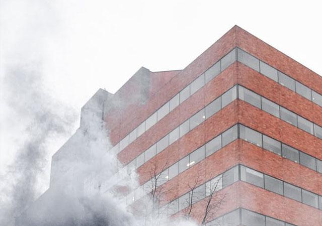 ciudad Analizador calidad aire mobiliario urbano smart city humo