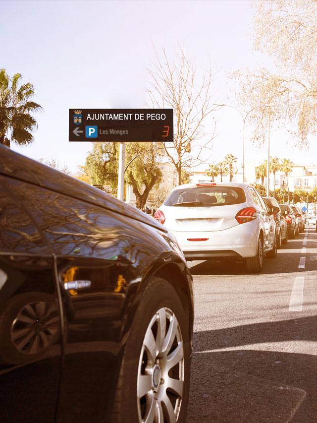 control de parking en la ciudades smart city y ayuntamientos