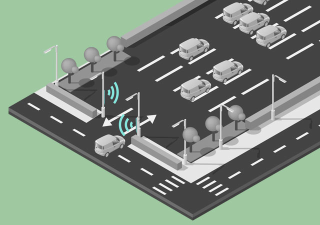 parking inteligente para smart cities mobiliario urbano R3 Recymed