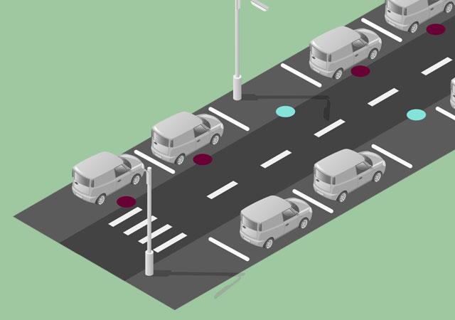 parking inteligente para smart cities y smart city mobiliario urbano R3 Recymed