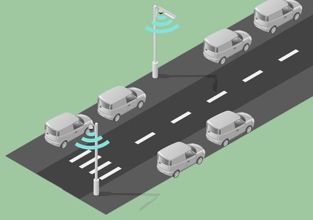parking inteligente para ciudades inteligentes smart cities mobiliario urbano R3 Recymed